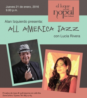 Jueves 21 - All America Jazz