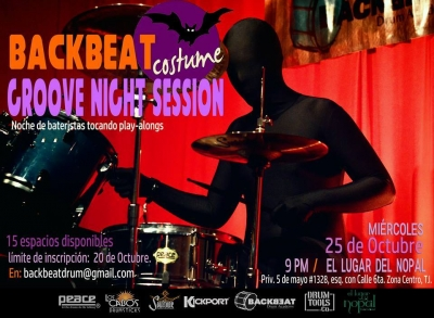 Miércoles 25 - BackBeat Groove Night Session